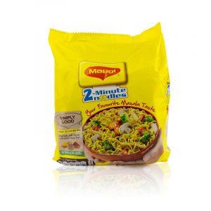 Nestlé Maggi 2-Minute Noodles Masala 4 Pack (248g)