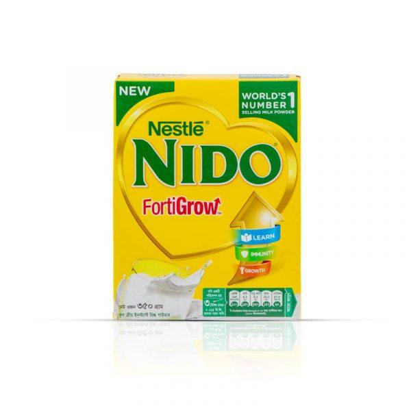 Nestlé Nido Fortigrow Full Cream Milk Powder BIB (350g)