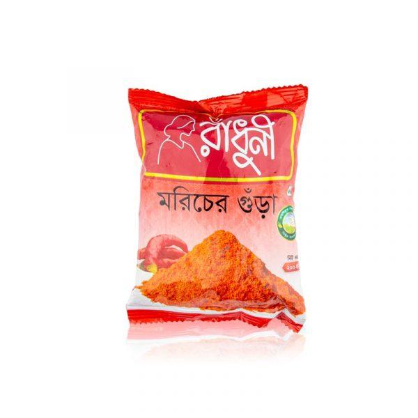 Radhuni Chili (Morich) Powder (200g)